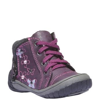 Buty dziecięce mini-b, fioletowy, 121-9101 - 13