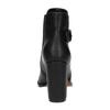 Botki na obcasie ze sprzączką bata, czarny, 791-6610 - 17