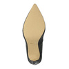 Czółenka z elastycznym oblamowaniem bata, czarny, 721-6600 - 26