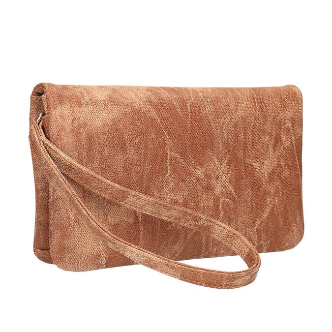 Brązowa kopertówka damska bata, brązowy, 961-3668 - 13