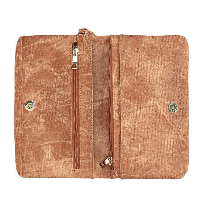 Brązowa kopertówka damska bata, brązowy, 961-3668 - 15