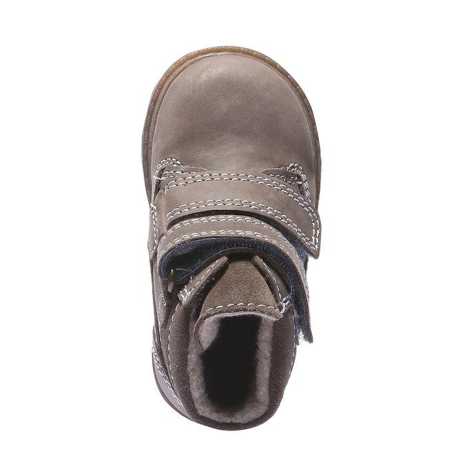 Dziecięce buty skórzane richter, żółty, 296-8002 - 19
