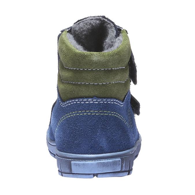 Dziecięce buty skórzane richter, niebieski, 193-9004 - 17