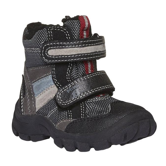 Buty dziecięce mini-b, szary, 199-2102 - 13