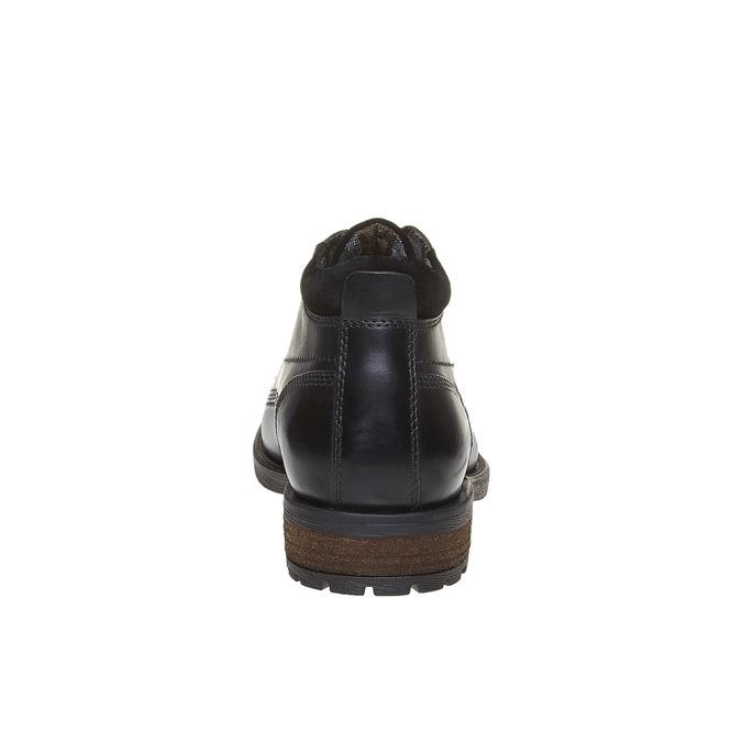 Buty do kostki bata, czarny, 894-6661 - 17