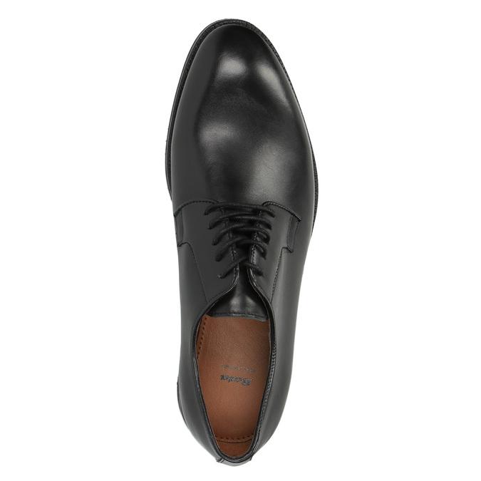 Męskie półbuty typu Derby bata, czarny, 824-6659 - 19
