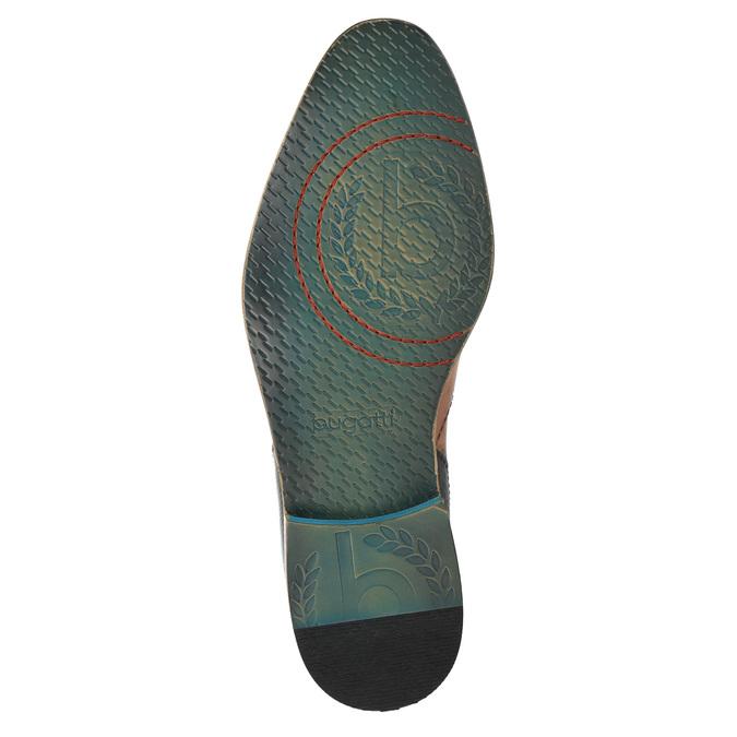 Skórzane ocieplane buty za kostkę bugatti, brązowy, 814-3003 - 26