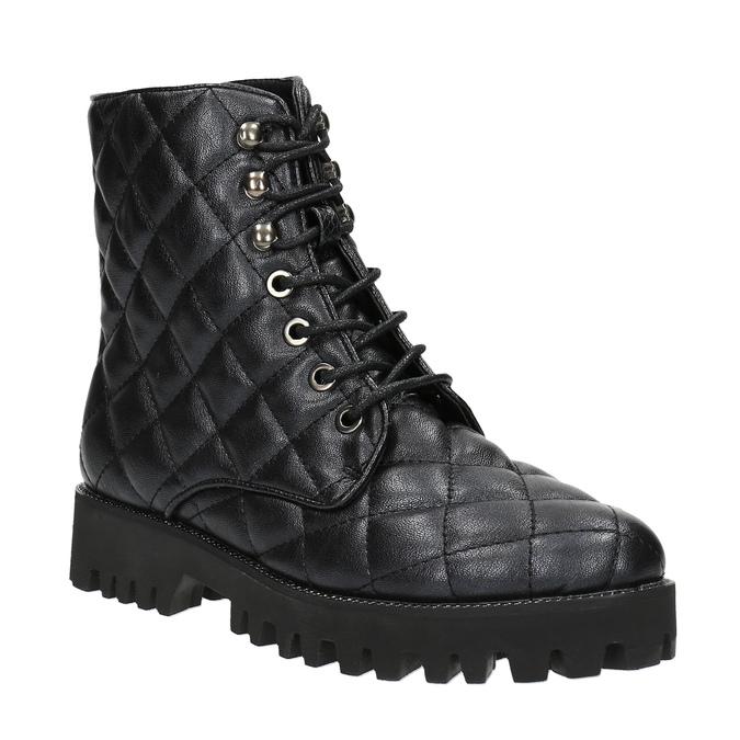 Botki damskie bata, czarny, 591-6614 - 13