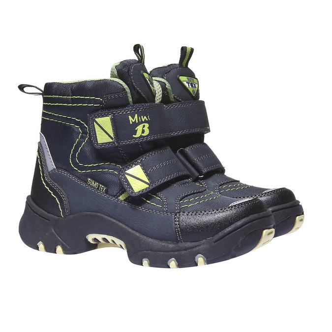 Buty dziecięce mini-b, niebieski, 299-9144 - 26