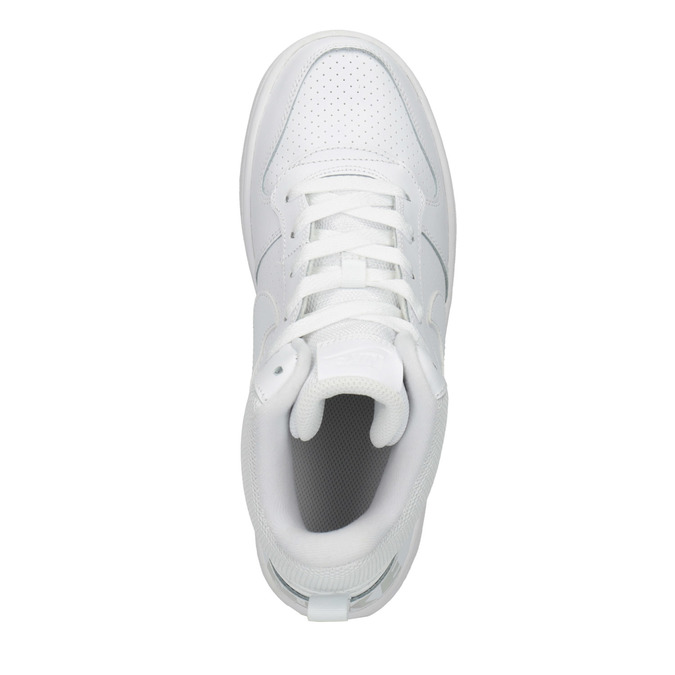 Białe trampki za kostkę nike, biały, 401-1237 - 19