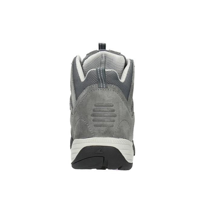 Skórzane buty do kostki w stylu Outdoor power, szary, 503-2830 - 17