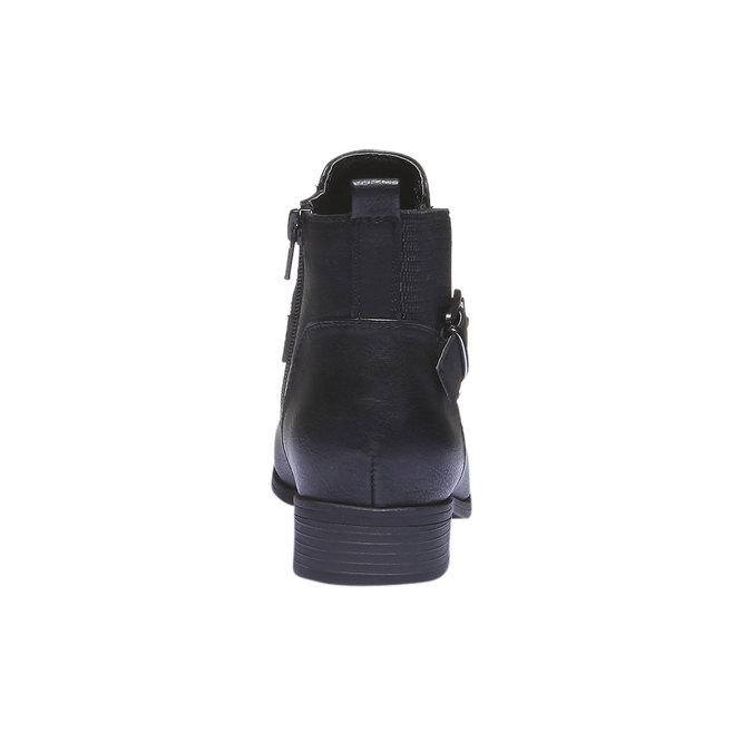 Damskie botki bata, czarny, 591-6113 - 17
