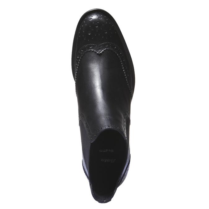 Botki o kroju Chelsea bata, czarny, 594-6532 - 19