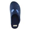 Kapcie damskie zhaftem bata, niebieski, 579-9603 - 19