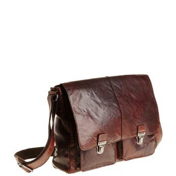 Skórzana torba bata, brązowy, 964-4178 - 13