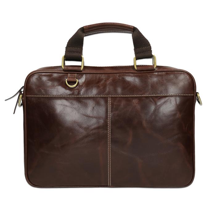 Skórzana torba męska bata, brązowy, 964-4204 - 19
