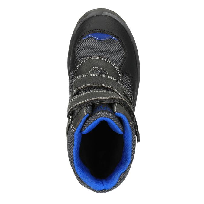 Dziecięce buty zimowe mini-b, czarny, 499-6103 - 19
