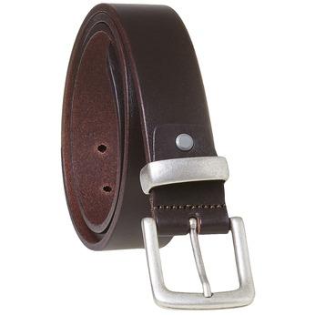 Brązowy skórzany pasek męski bata, brązowy, 954-4162 - 13