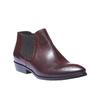Skórzane buty w stylu Chelsea bata, czerwony, 594-5106 - 13