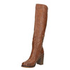 Kozaki na szerokim obcasie bata, brązowy, 791-4612 - 26