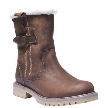 Skórzane buty z antypoślizgową podeszwą weinbrenner, brązowy, 594-4455 - 13