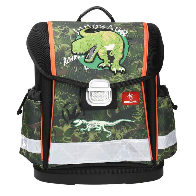 Plecak szkolny dla dzieci belmil, zielony, 969-7626 - 26