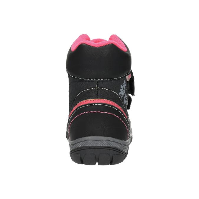 Dziecięce botki mini-b, czarny, 299-6610 - 17