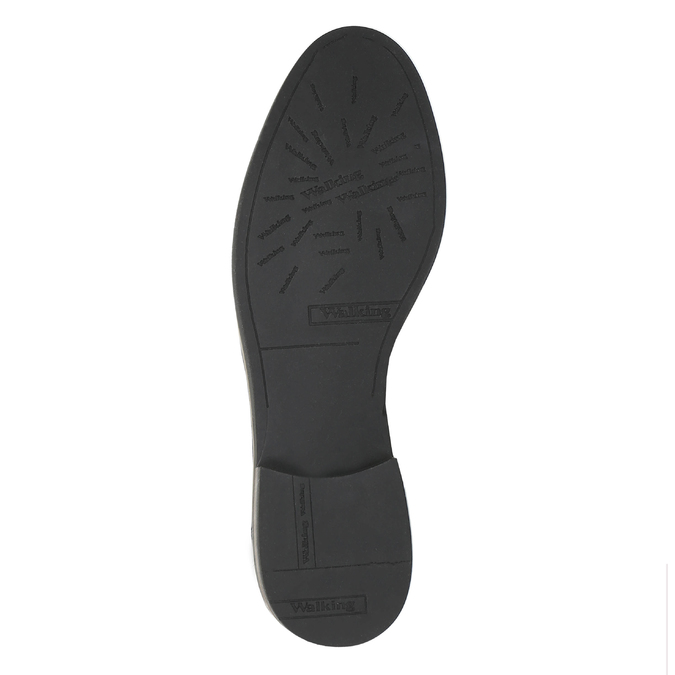 Damskie skórzane buty Chelsea Boots bata, czarny, 596-6607 - 26
