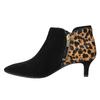 Buty ze skóry za kostkę na niskim obcasie rockport, czarny, 613-6006 - 26