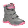 Dziecięce buty zimowe mini-b, szary, 391-2100 - 13