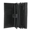 Skórzany portfel damski bata, czarny, 944-6168 - 15