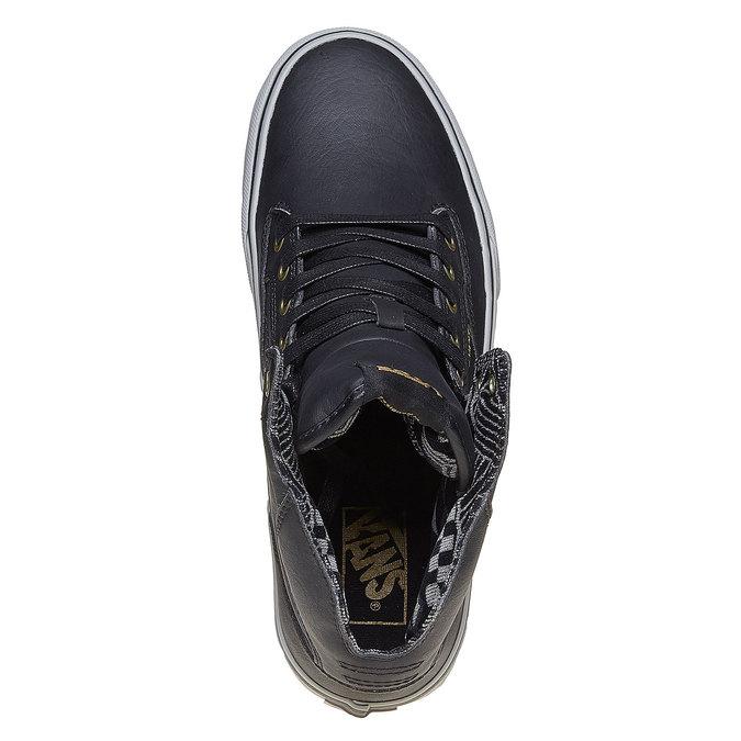 Męskie buty sportowe do kostki marki Vans vans, czarny, 809-6310 - 19