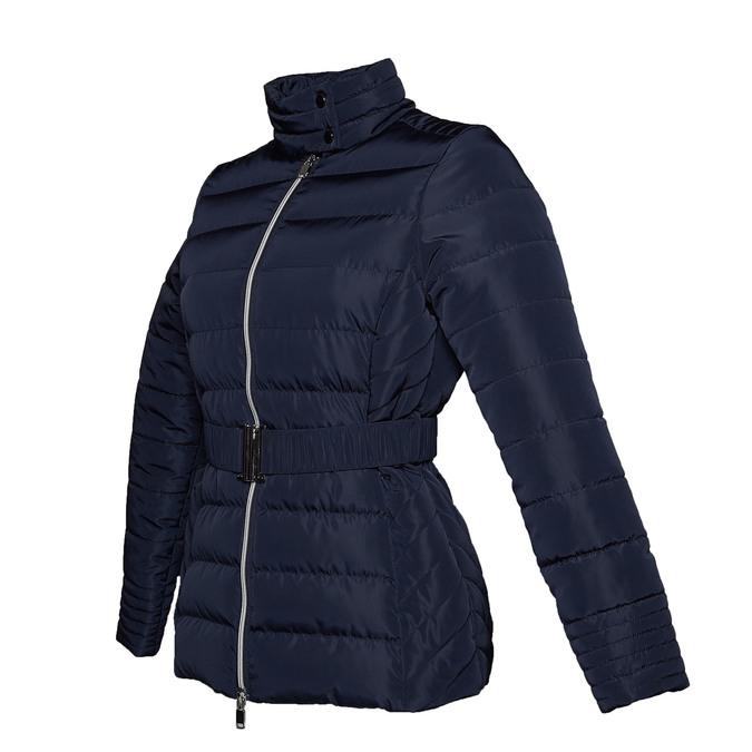 Damska kurtka z klamerką bata, niebieski, 979-9640 - 16