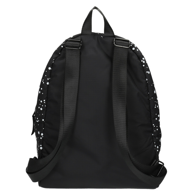 Plecak ze wzorem w kropki bjorn-borg, czarny, 969-6030 - 26