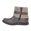 Dziecięce buty z lamówką z dzianiny mini-b, szary, 291-2154 - 19