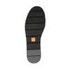Slip-on damskie ze skóry, z lamówką flexible, czarny, 514-6257 - 26