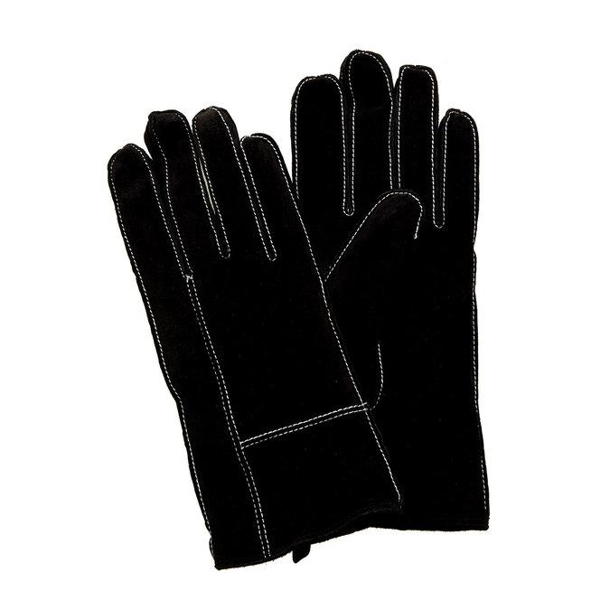 Skórzane damskie rękawiczki w pudełku upominkowym bata, czarny, 903-6102 - 13