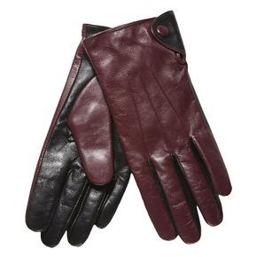 Skórzane damskie rękawiczki bata, czerwony, 903-5101 - 13