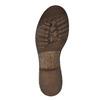 Skórzane buty zimowe zfuterkiem manas, brązowy, 596-4600 - 26