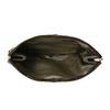 Skórzana kopertówka z krokodylim wzorem vagabond, brązowy, 966-4002 - 15