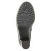 Skórzane botki z naturalnym futerkiem manas, szary, 793-2603 - 26