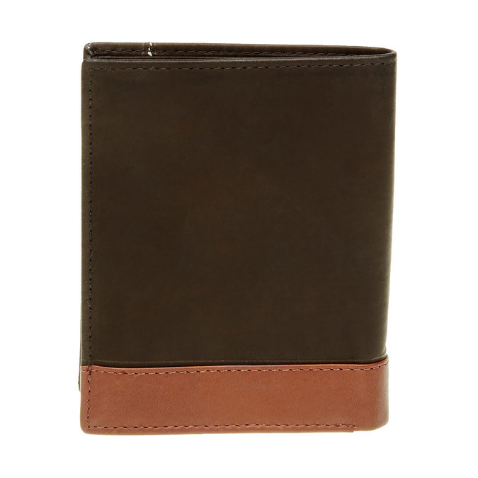 Męski skórzany portfel bata, czarny, 944-6150 - 26