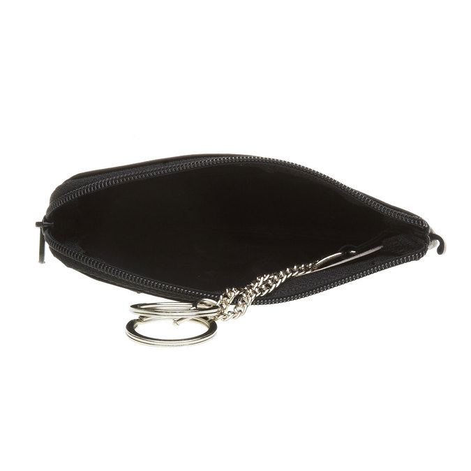 Skórzany portfel bata, czarny, 944-6161 - 16