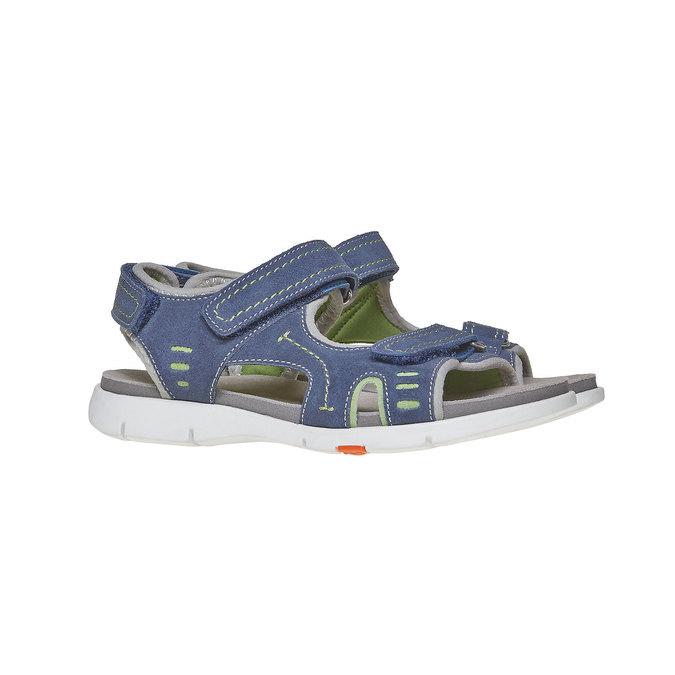 Sandały dziecięce flexible, niebieski, 363-9188 - 26