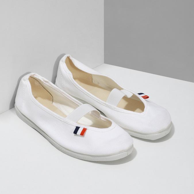 Tenisówki dziecięce bata, biały, 379-1001 - 26