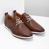 Skórzane buty sportowe na co dzień bata, brązowy, 824-4124 - 26