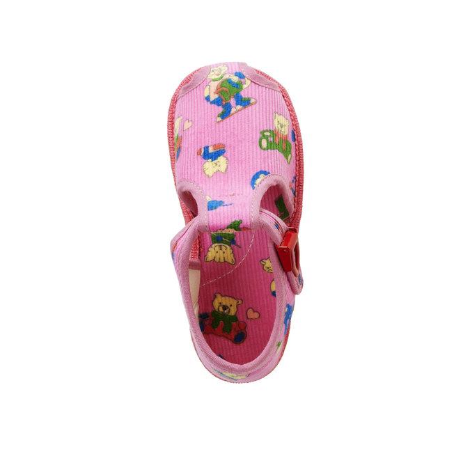Kapcie dziecięce bata, różowy, 179-5210 - 19