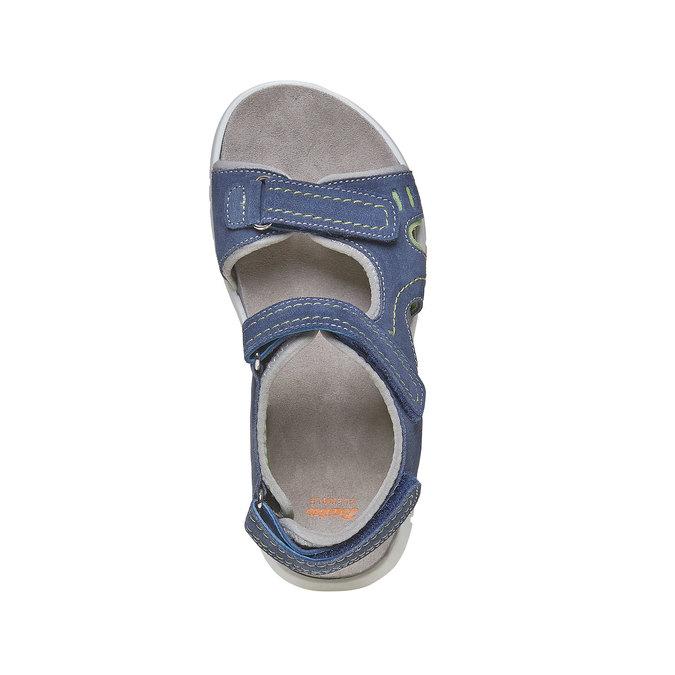 Sandały dziecięce flexible, niebieski, 363-9188 - 19