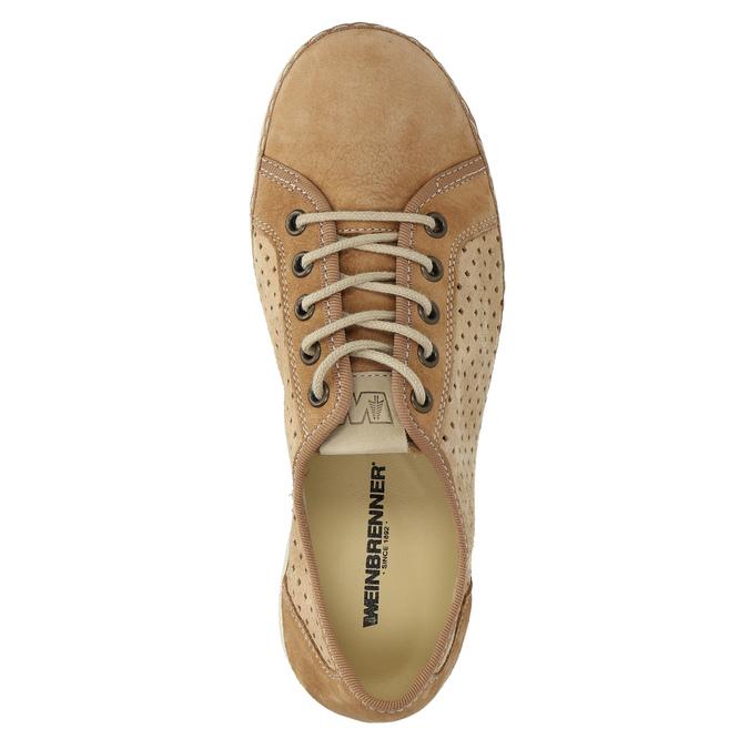 Skórzane buty sportowe weinbrenner, brązowy, 546-4238 - 19