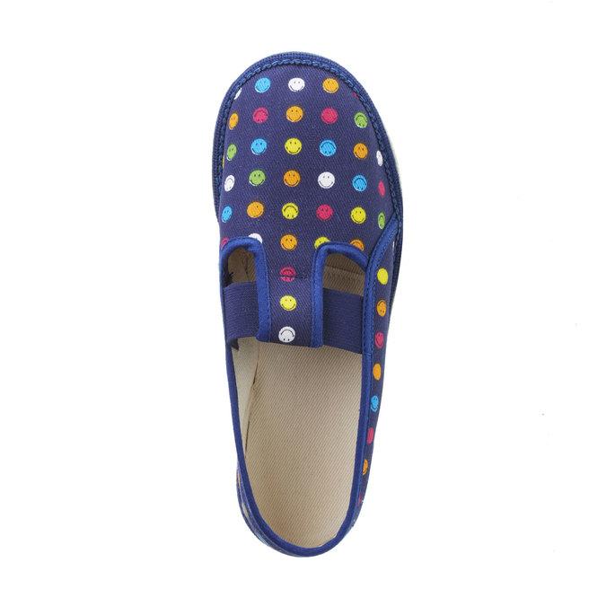 Dziecięce pantofle bata, niebieski, 379-5012 - 19
